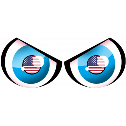 Paire d'yeux USA